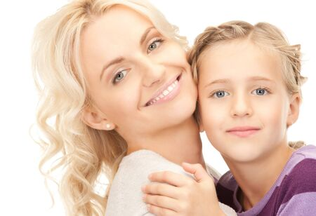 bright picture of happy mother and child Stock Photo - 8136275
