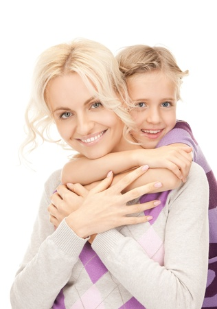 bright picture of happy mother and little girl Stock Photo - 9193058