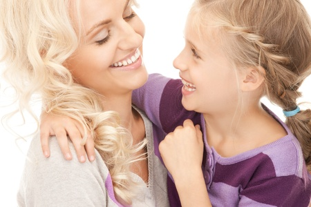 bright picture of happy mother and little girl. Stock Photo - 9318977