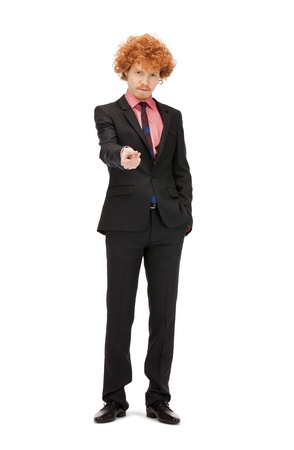 bright full length picture of handsome man Stock Photo - 9354349