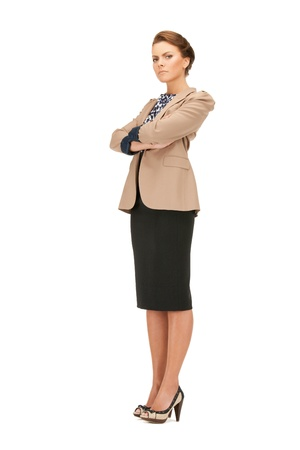 bright picture of calm and friendly woman Stock Photo - 9439521