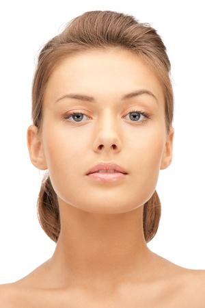 bright closeup portrait picture of beautiful woman Stock Photo - 11022833