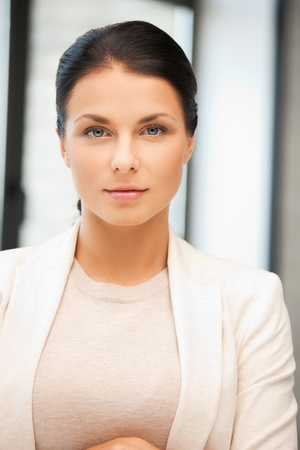 bright picture of calm and serious woman Stock Photo - 12460847