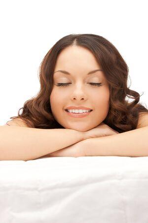 picture of beautiful woman beautiful woman in spa salon Stock Photo - 12883013