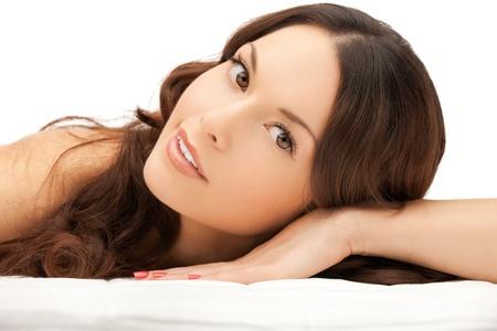 rejuvenating: immagine della donna bella donna bella spa salon