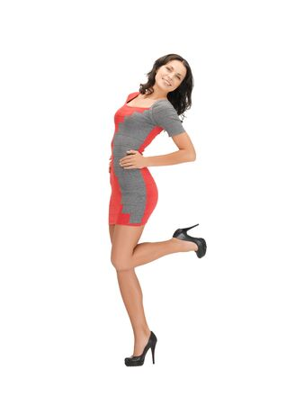 picture of lovely woman in elegant dress Stock Photo - 14048027