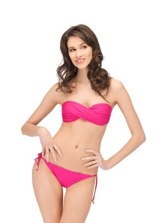 bright picture of beautiful woman in bikini Stock Photo - 14257488