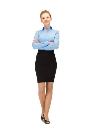 air hostess: image brillante de h�tesse de l'air heureux et souriant