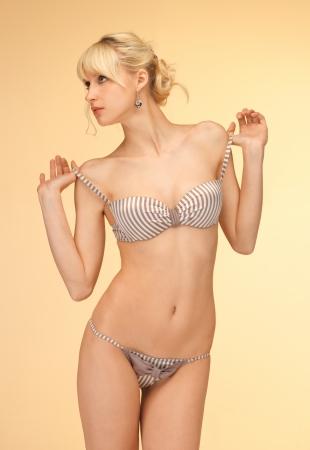 Seductive undressing