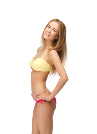bright picture of beautiful woman in bikini Stock Photo - 14729754