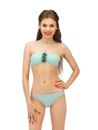 bright picture of beautiful woman in bikini Stock Photo - 15420105
