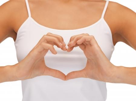 corazon en la mano: cuadro del primer brillante de la forma de en forma de coraz�n
