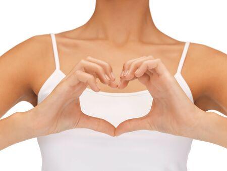 insuficiencia cardiaca: cuadro del primer brillante de la forma de en forma de coraz�n