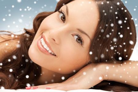 Foto de mujer hermosa mujer hermosa en spa sal�n Foto de archivo - 16619277
