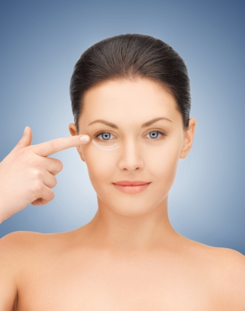 picture of beautiful woman ready for cosmetic surgery Stock Photo - 16796896