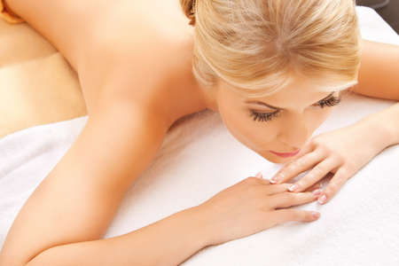 picture of beautiful woman in spa salon Stock Photo - 17108175