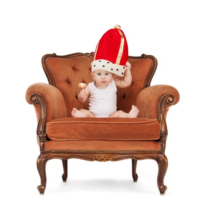 picture of adorable baby boy with lollipop Stock Photo - 17636360