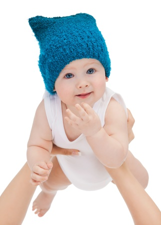 bright closeup picture of adorable baby boy Stock Photo - 17758676