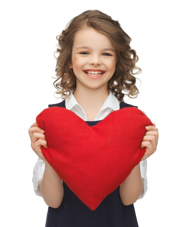 beautiful preteen girl: picture of beautiful girl with big heart