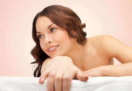 picture of beautiful woman in spa salon Stock Photo - 18822392