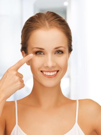 arrugas: Foto de mujer hermosa lista para la cirug?a cosm?tica Foto de archivo