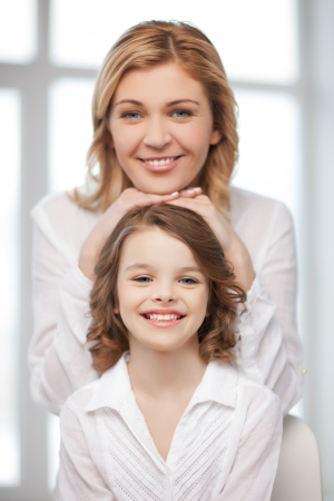 bright picture of happy mother and daughter Stock Photo - 20672243