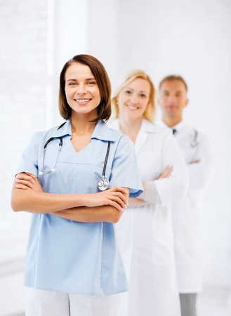 healthcare and medical concept - group of doctors Stock Photo - 21136538