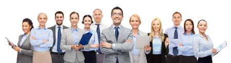 arbeiter: Gruppe von Geschäftsleuten gerne