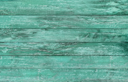 weathered: backgrounds and texture concept - blue green wooden floor or wall
