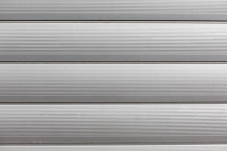 cerrar la puerta: fondo y la textura - Cierre de aluminio puerta de garaje de metal telón de fondo Foto de archivo