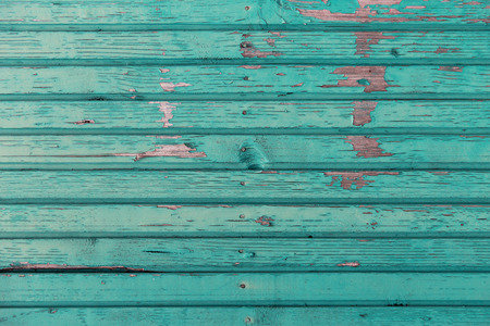old backgrounds: backgrounds and texture concept - old wooden fence painted in blue background Stock Photo