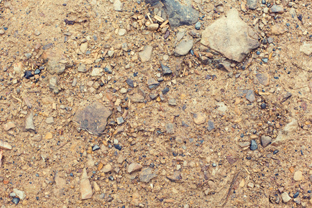 dirt background: background, texture and nature concept - close up of brown ground Stock Photo