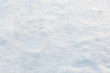 precipitacion: christmas, winter and precipitation concept - snow cover outdoors Foto de archivo