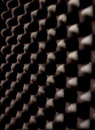 acoustical: foam rubber acoustic material