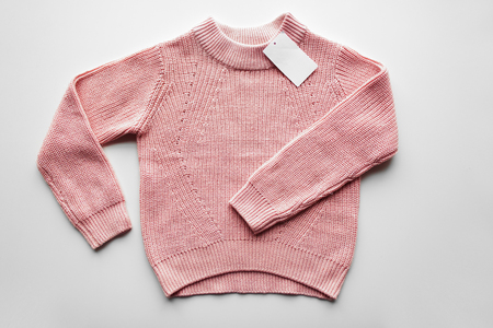 docket: sweater or pullover with price tag