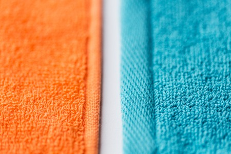terrycloth: close up of bath towels