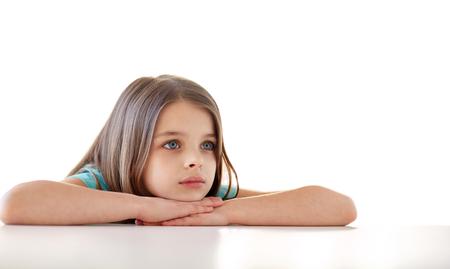 beautiful sad: beautiful sad girl at home
