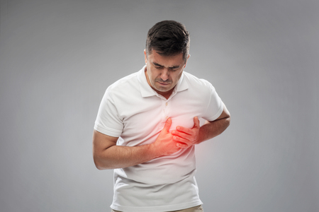unhappy man suffering from heart ache