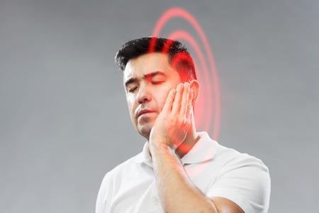 ongelukkige man tand kiespijn