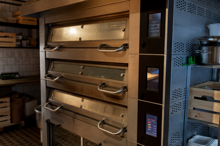 bread oven at bakery kitchen Imagens