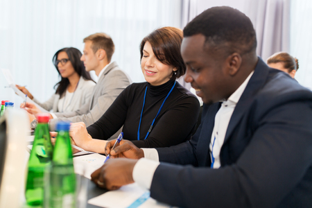 african business: business team at international conference