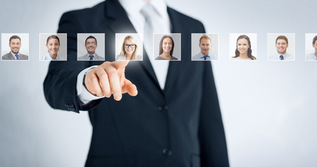 human resources, career and recruitment concept