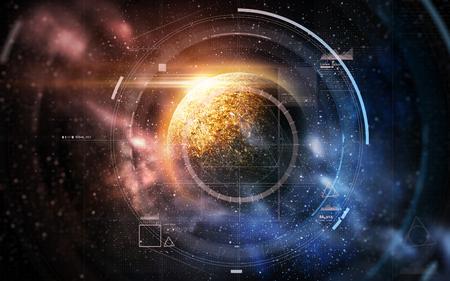 홀로그램 홀로그램과 우주의 별