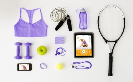 Tablette pc, smartphone et articles de sport