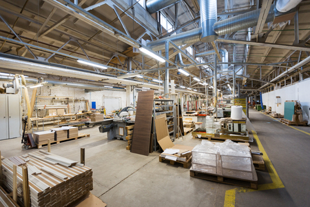 woodworking factory workshop Stock Photo - 97068777