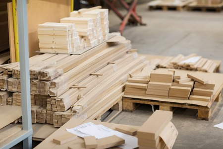 wooden boards or fibreboards at woodworking plant