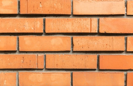 close up of brick wall texture