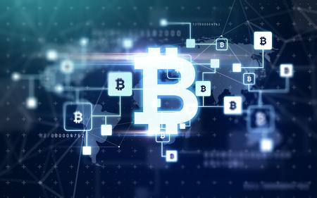 bitcoin block chain projection