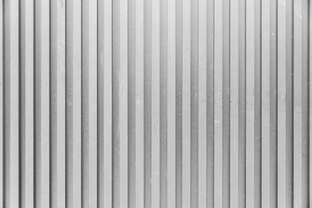 grey ribbed background Stock Photo
