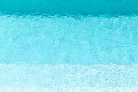 turquoise water in swimming pool